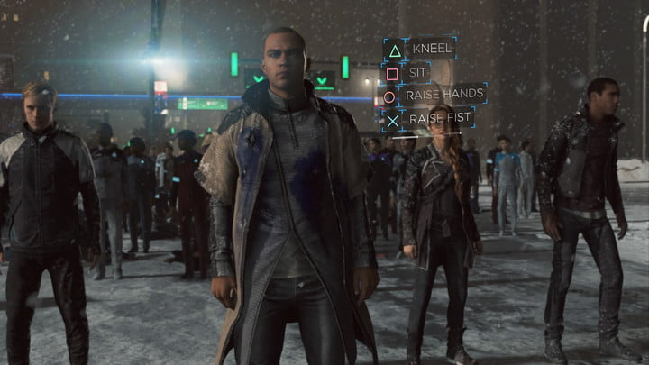 detroit become human ending guide protest