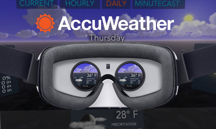 accuweather weather for life vr 1