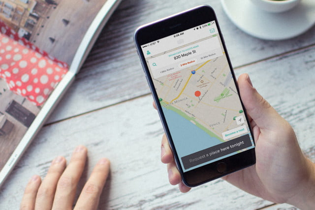overnight is airbnb meets uber 1  opening screen