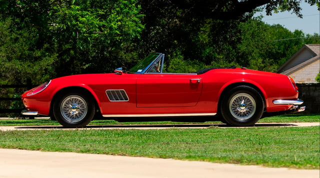 the ferrari from ferris buellers day off heads to auction block 1985 modena gt spyder california bueller s 2