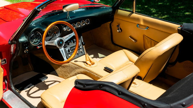 the ferrari from ferris buellers day off heads to auction block 1985 modena gt spyder california bueller s 4