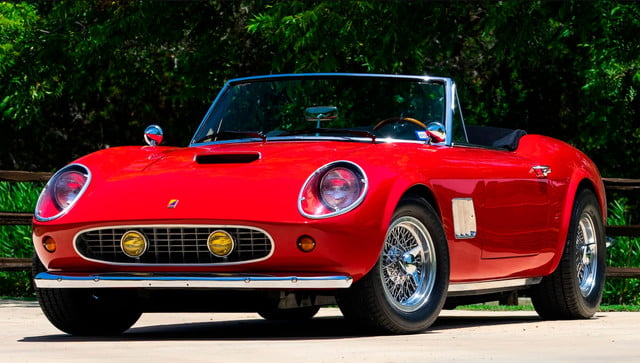 the ferrari from ferris buellers day off heads to auction block 1985 modena gt spyder california bueller s