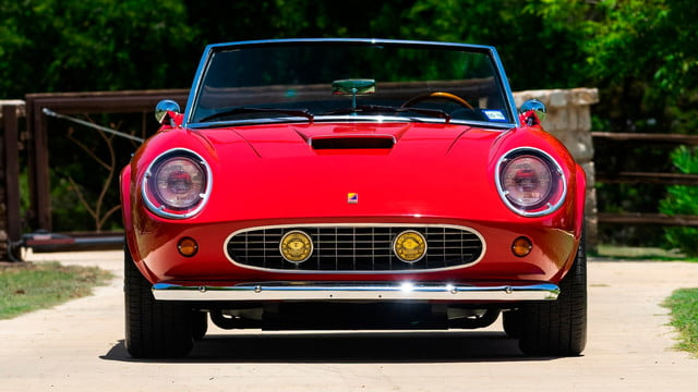 the ferrari from ferris buellers day off heads to auction block 1985 modena gt spyder california bueller s 8