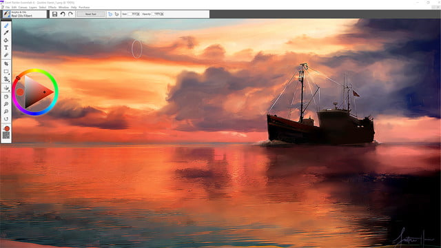 corel painter essentials 6 launches 1 natural media