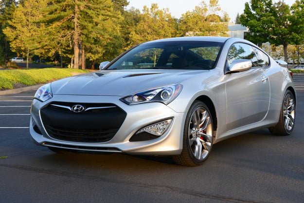 2013 hyundai genesis coupe review front angle