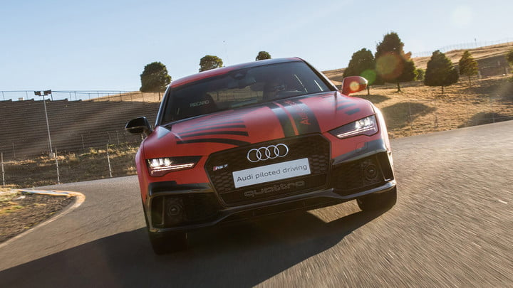 thunderhill raceway to host track day autonomous cars 2015 audi rs 7 piloted driving prototype robby at sonoma 011