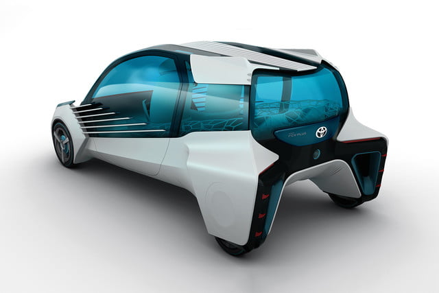 toyotas fcv plus concept comes to visit from a hydrogen future 2015 tokyo toyota 006