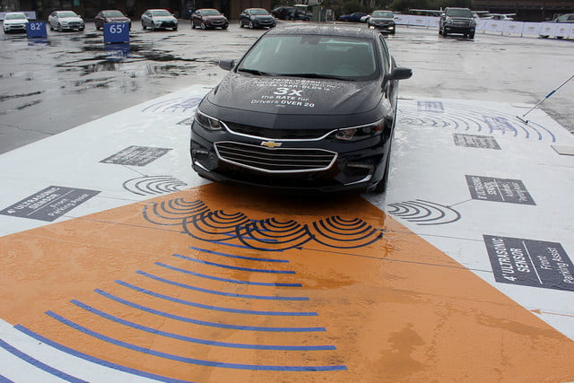 2016 chevrolet malibu first drive safety area