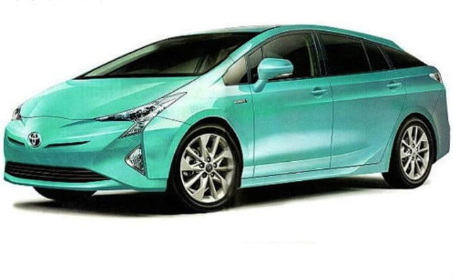 2016-Prius-green front angle