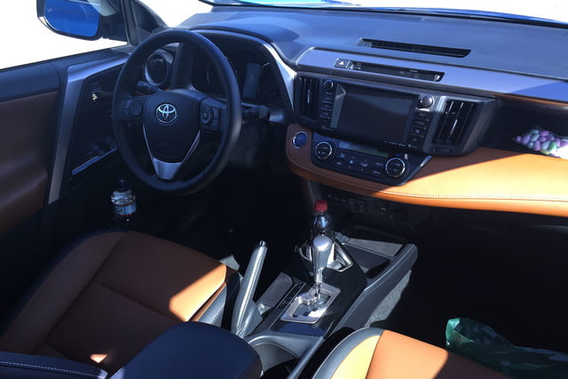 2016 toyota rav4 first drive dt interior