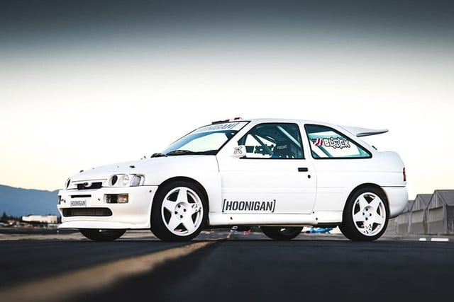 ken block overviews latest ford escort cosworth project car 2017  s hoon mobile 1993 5