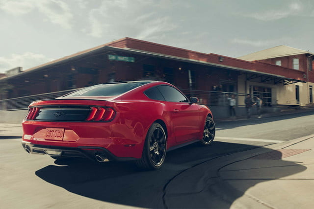 2018 Ford Mustang EcoBoost Premium with Black Accent Package