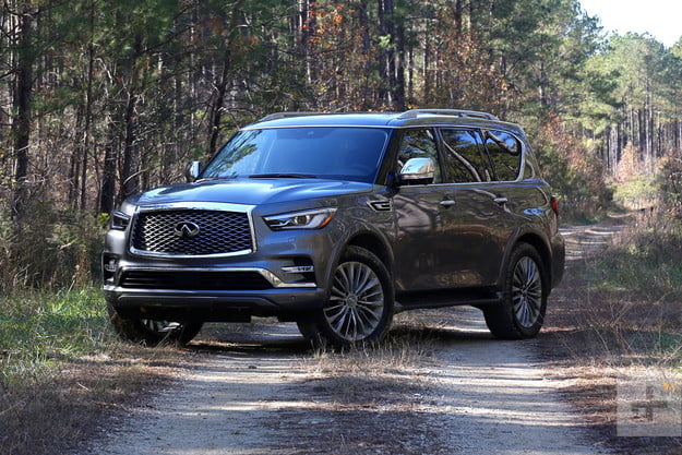 2018 Infiniti QX80 Review