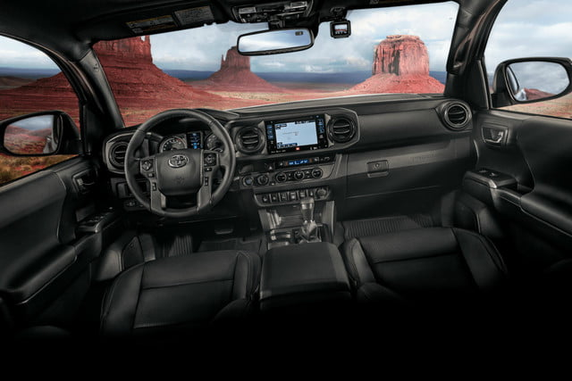 2018 Toyota Tacoma TRD Off-Road Double Cab Interior