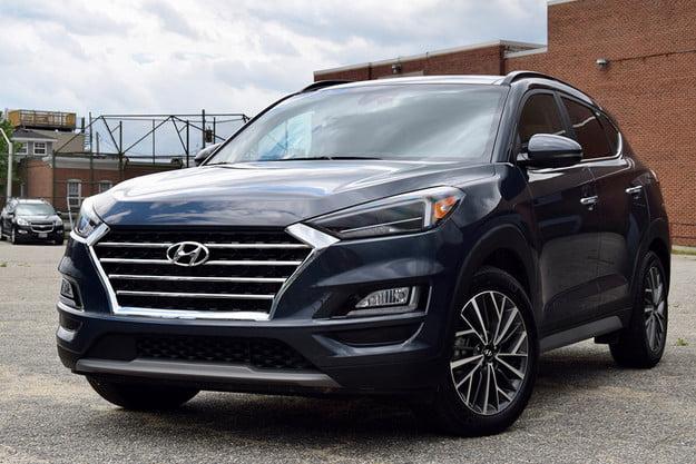 2019 hyundai tucson ultimate awd review tuscon first drive feat