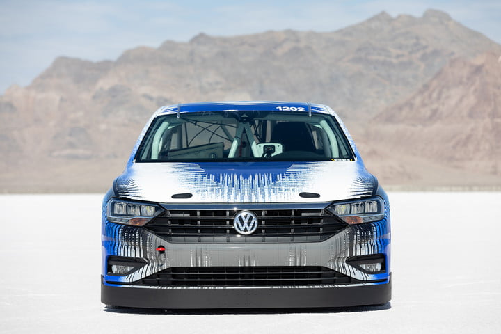 At Bonneville, a 210-mph Volkswagen Jetta is nothing unusual