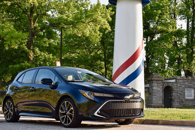 2019 toyota corolla xse hatchback review fw