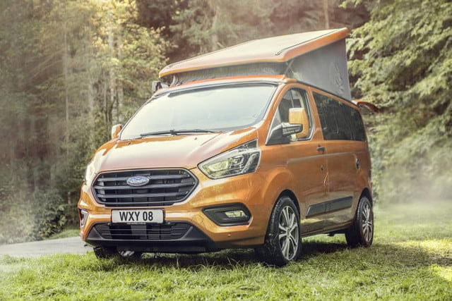 ford transit custom nugget van camper for europe 2019ford transitcustomnugget 10