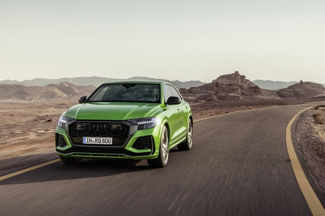 2020 audi rs q8 high performance suv unveiled with 600 horsepower official 1