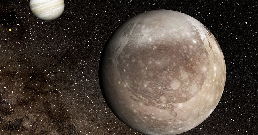 Biggest impact crater in the solar system spotted on Ganymede