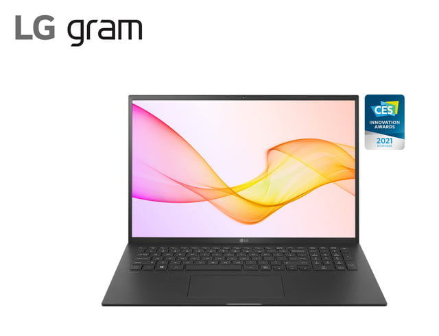 lg new gram laptop 2 in 1 models ces 2021 17z90p black scaled
