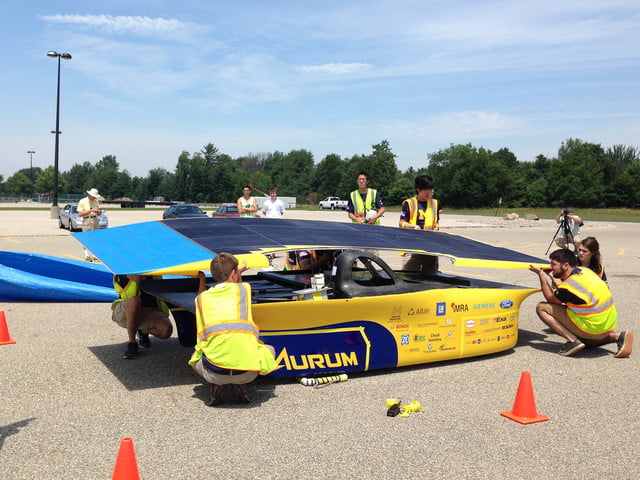 UM Solar Car Team Aurum
