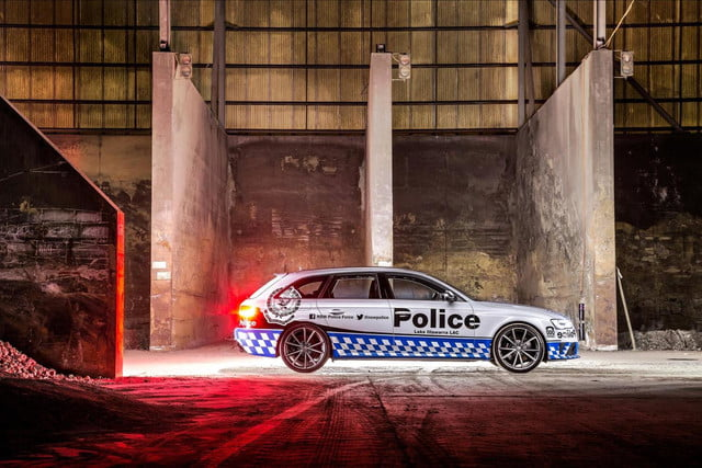 Audi RS 4 Avant New South Wales Police Force