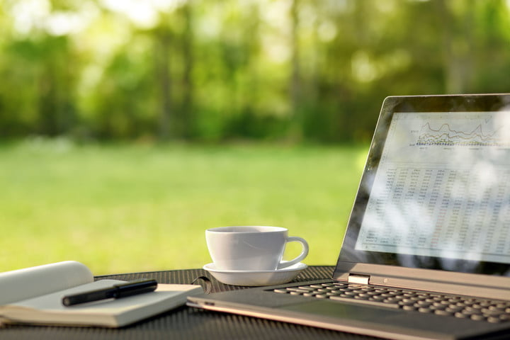 1115836 autosave v1 39344590  laptop and coffee in outdoor office