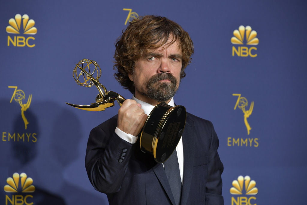Game of Thrones' Peter Dinklage at the Emmys