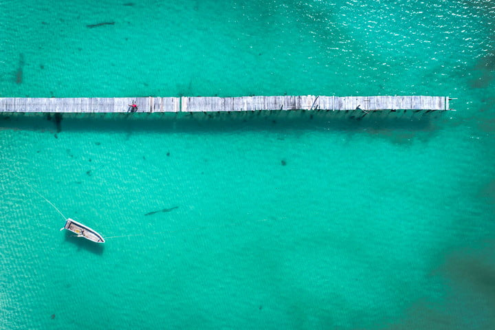 dji launches app drone footage 76325365  koh rong from above