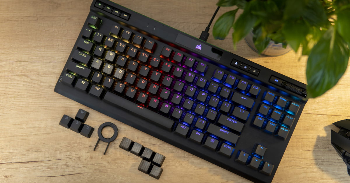 Corsair K70 RGB TKL is an excellent gaming keyboard, if only it came out in 2016