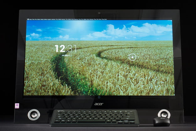 Acer TA272HUL review android home screen