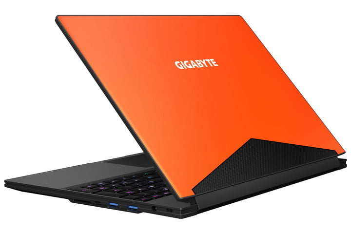 gigabyte aero 15 pantone certified laptop aero15 orange
