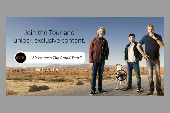 amazon the grand tour alexa skill conversation