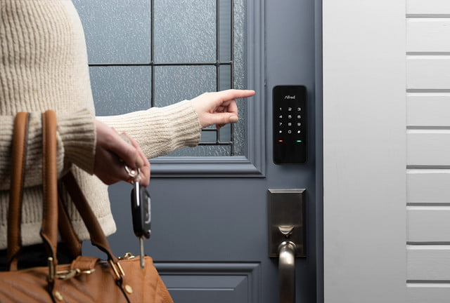 secure one touch control with alfred smart lock touchscreen deadbolt 2