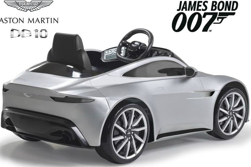 Check Out This Toddler Sized Aston Martin Digital Trends
