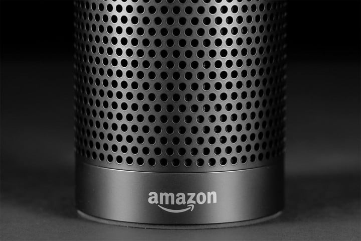 Amazon Echo review macro logo