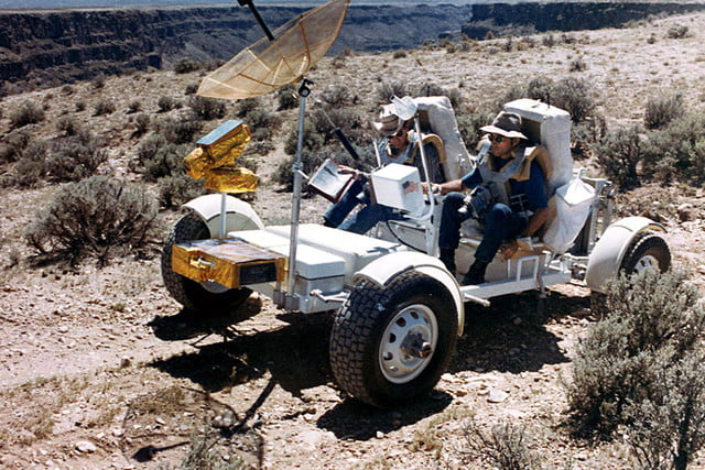 history of the moon buggy lunar roving vehicle ap16 s71 51616