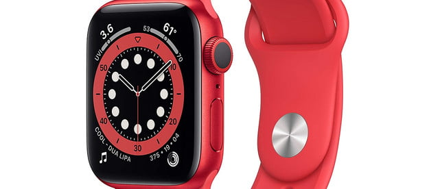 apple watch series 6 samsung galaxy 3 deal amazon february 2021 gps 40mm product red