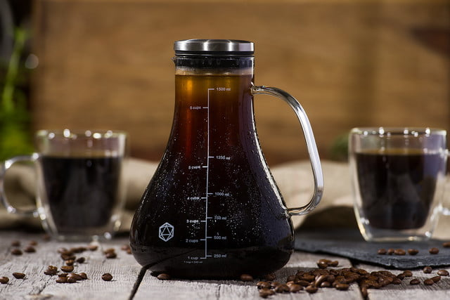 arctic cold brew system launches on kickstarter with thermal mugs