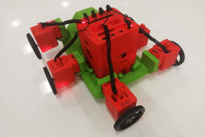 ARE fabricated robot
