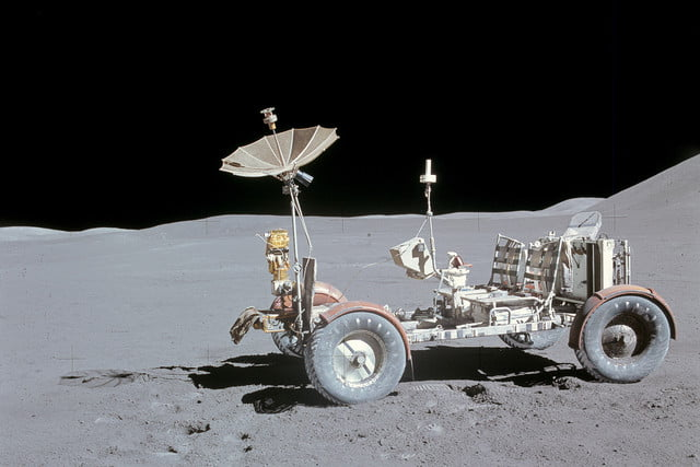 history of the moon buggy lunar roving vehicle as15 88 11901hr