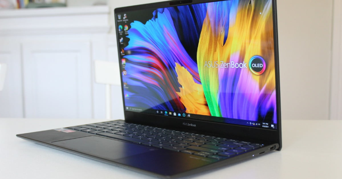 Asus ZenBook 13 OLED UM325 review: AMD laptop perfection?