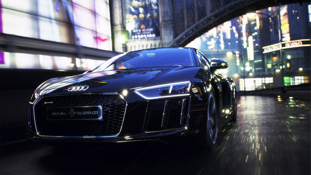final fantasy audi r8 star of lucis 007