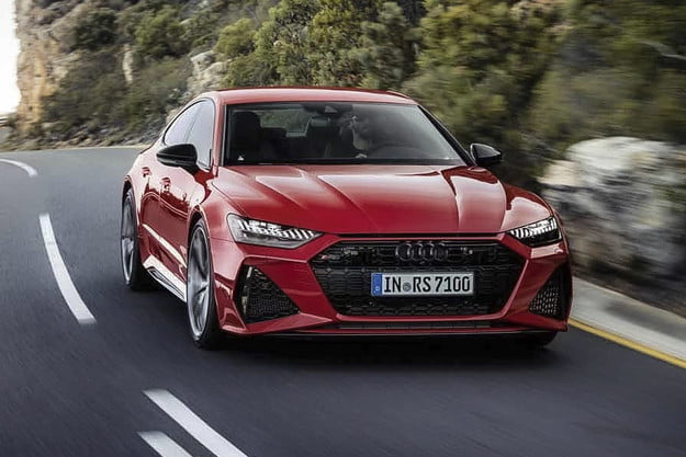 Driving down the highway | 2020 Audi RS 7 first drive