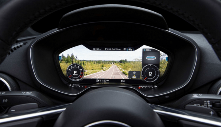car virtual dashboard design audi cockpit