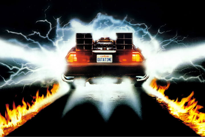 best futuristic cars from science fiction movies back to the future 2