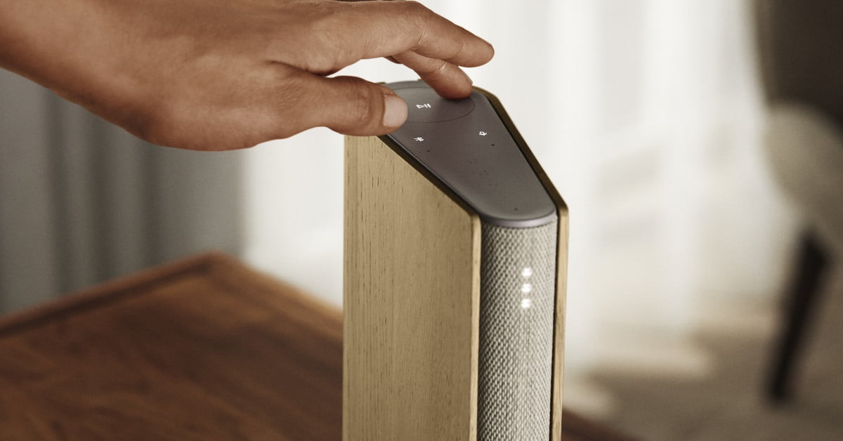Bang & Olufsen's latest speaker is as thin as a book