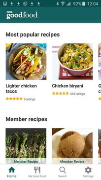The best recipe apps