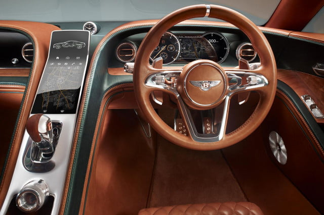 bentley exp 10 speed 6 concept official specs and pictures dash press image